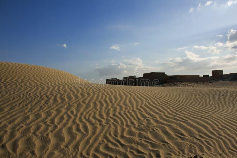 Fortaleza del desierto fotografía de archivo libre de regalías