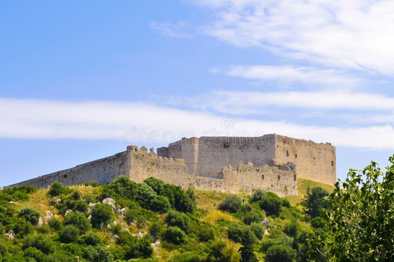 Fortaleza del kastro, Grecia fotografía de archivo