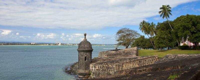 Fortaleza del morro del EL, Puerto Rico imagenes de archivo