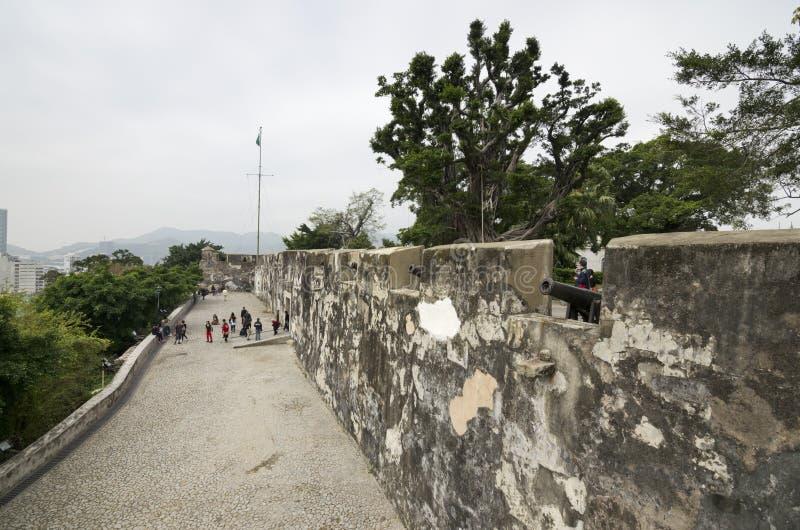 A Fortaleza do Monte fotografia de stock