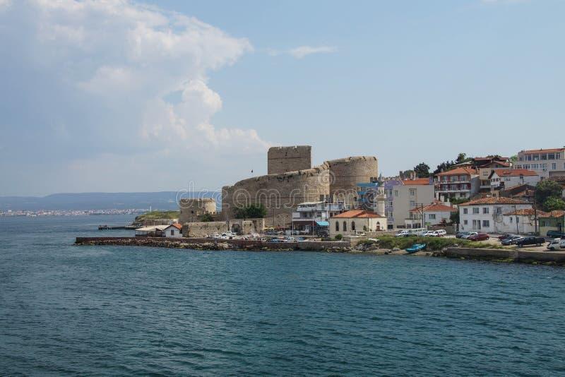 Fortaleza do otomano nos Dardanelos imagem de stock