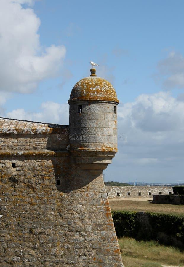 Fortaleza do Port-Louis, Brittany, França imagem de stock