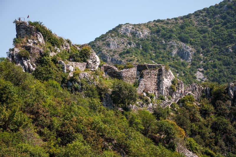 Fortaleza do ` s de Asen em Asenovgrad fotografia de stock