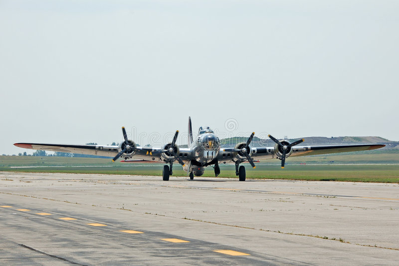 Fortaleza do vôo B-17 imagens de stock royalty free