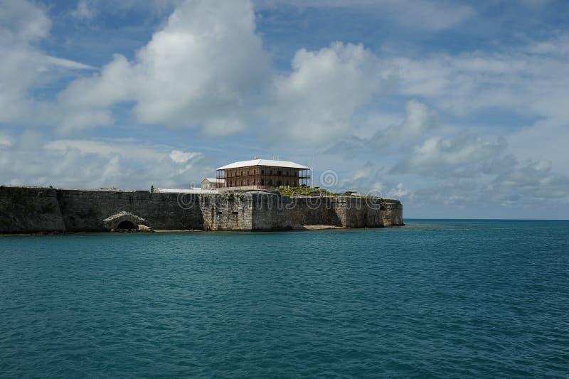 Fortaleza el Caribe de Bermudas foto de archivo libre de regalías