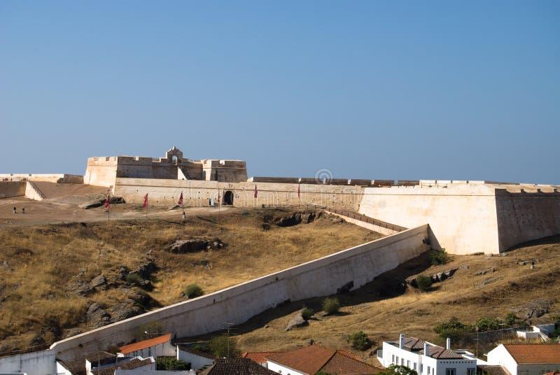 Fortaleza en Castro Marim, imagen de archivo