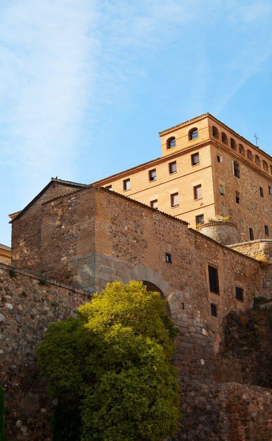 Fortaleza en la ciudad de Toledo fotos de archivo libres de regalías