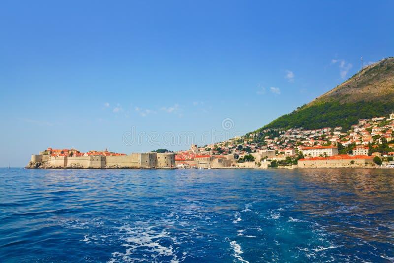 Fortaleza en la ciudad Dubrovnik en Croatia imagenes de archivo