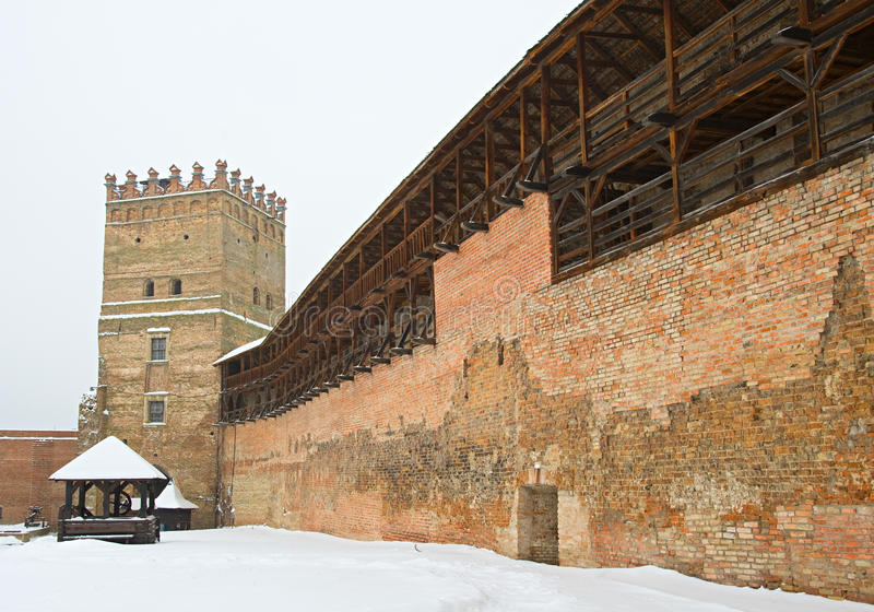 Fortaleza en Lutsk, Ucrania fotografía de archivo libre de regalías