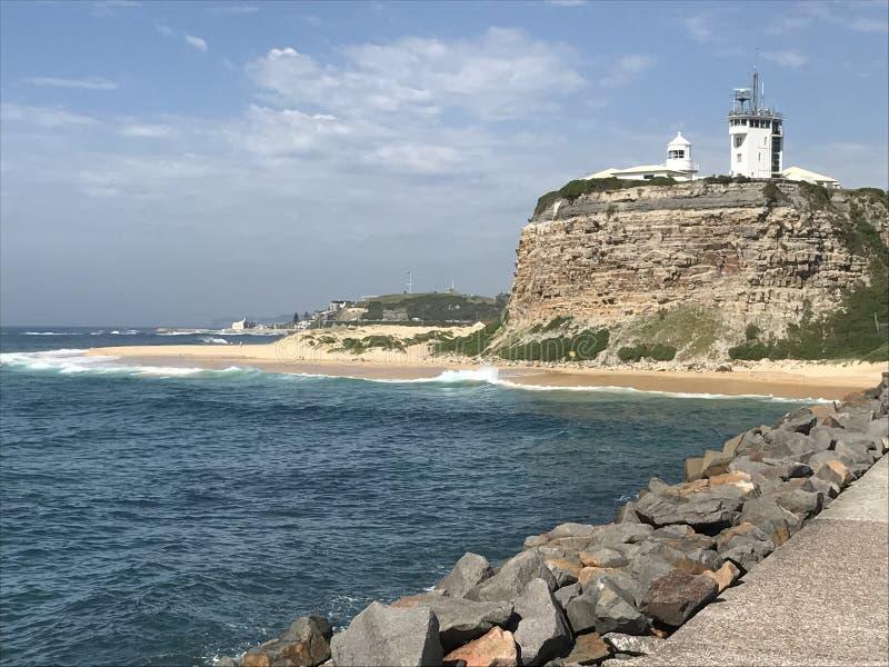 Fortaleza en Nuevo Gales del Sur fotografía de archivo