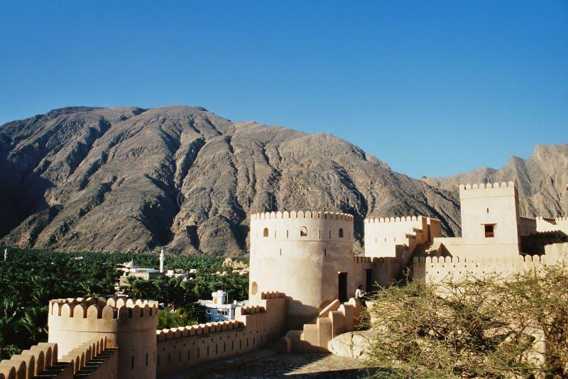Fortaleza en Omán fotografía de archivo libre de regalías