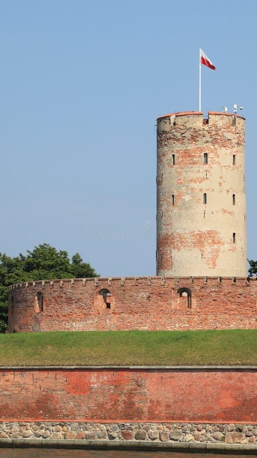 Fortaleza famosa de Wisloujscie em Gdansk, Poland fotografia de stock