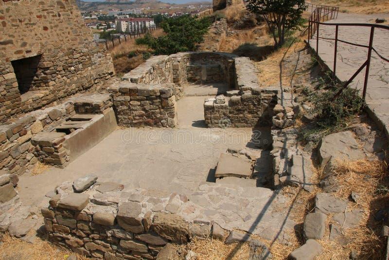 Fortaleza Genoese imagen de archivo