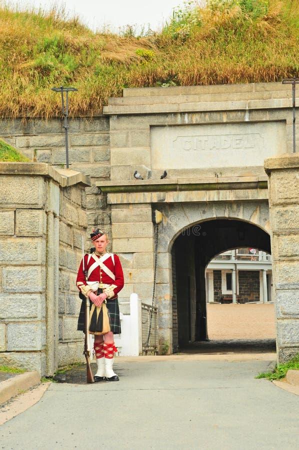 Fortaleza George en la colina de la ciudadela, Halifax, Nueva Escocia foto de archivo