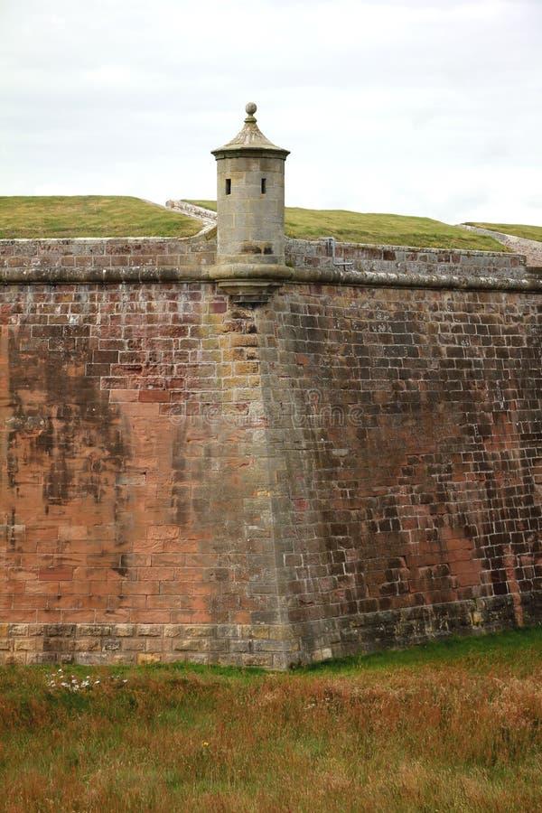 Fortaleza george Escocia foto de archivo libre de regalías