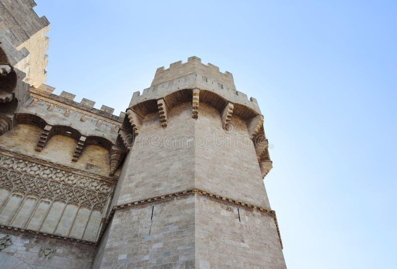Fortaleza histórica com teste padrão e estilo antigo antigos imagem de stock