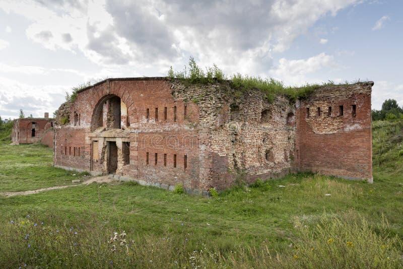 Fortaleza histórica de Bobruisk en Bielorrusia fotos de archivo libres de regalías