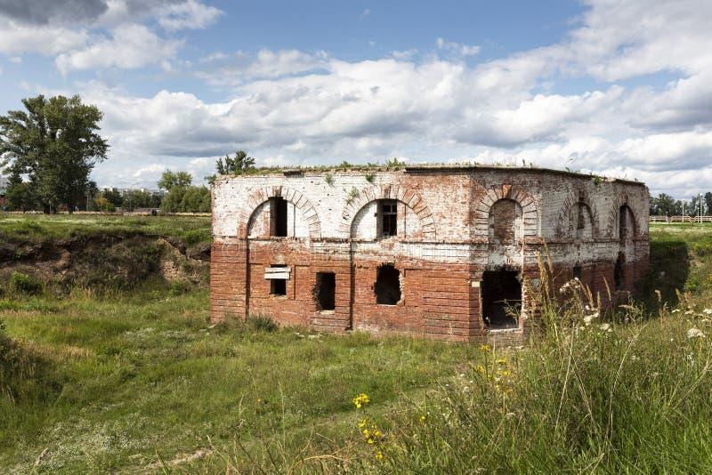 Fortaleza histórica de Bobruisk en Bielorrusia foto de archivo libre de regalías