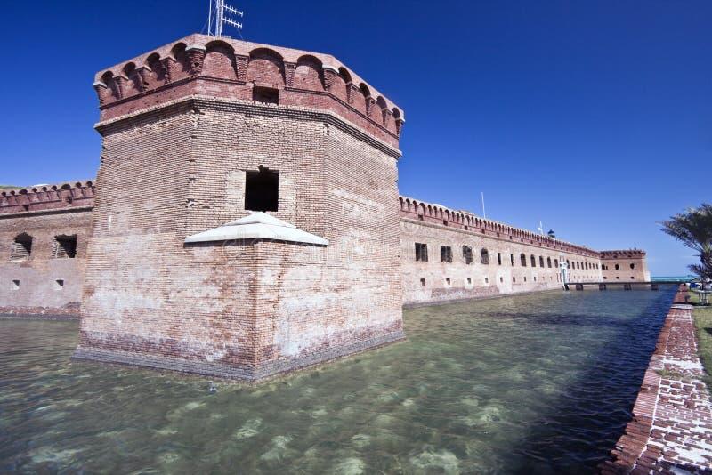 Fortaleza Jefferson - parque nacional seco de Tortugas. fotografía de archivo