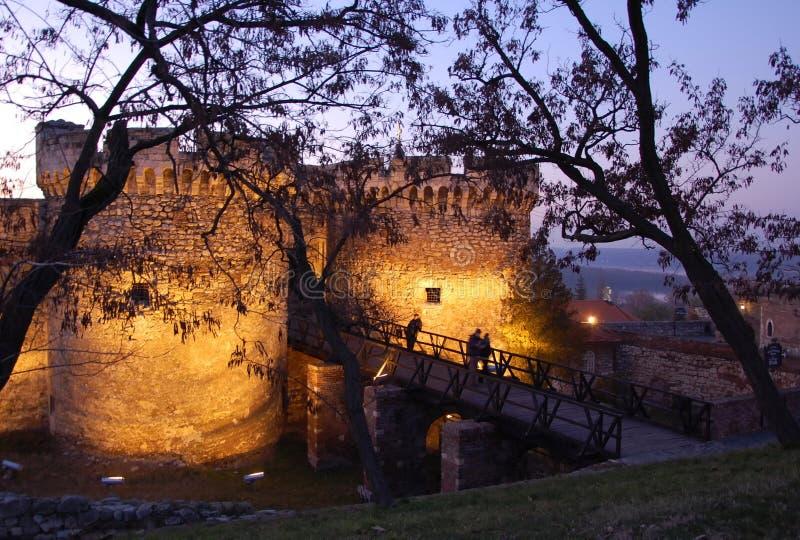 Fortaleza Kalemegdan, Beldrad, Serbia foto de archivo libre de regalías
