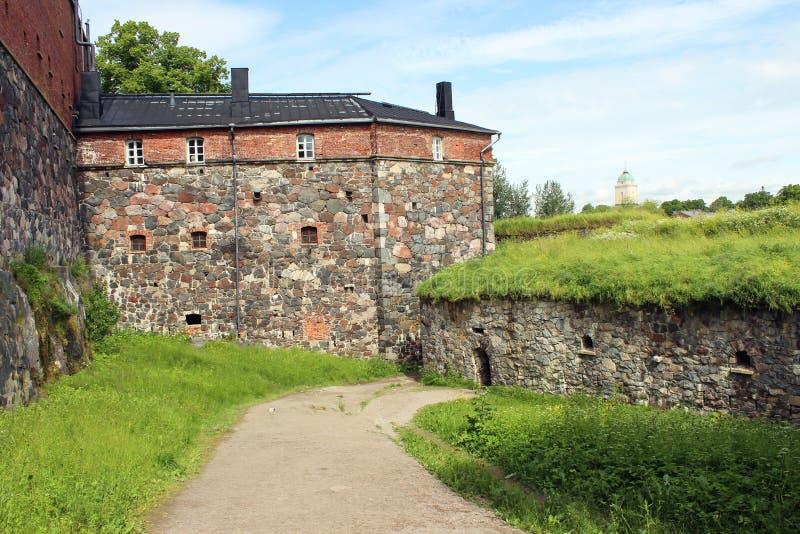 Fortaleza marítima de Suomenlinna em Helsínquia imagens de stock