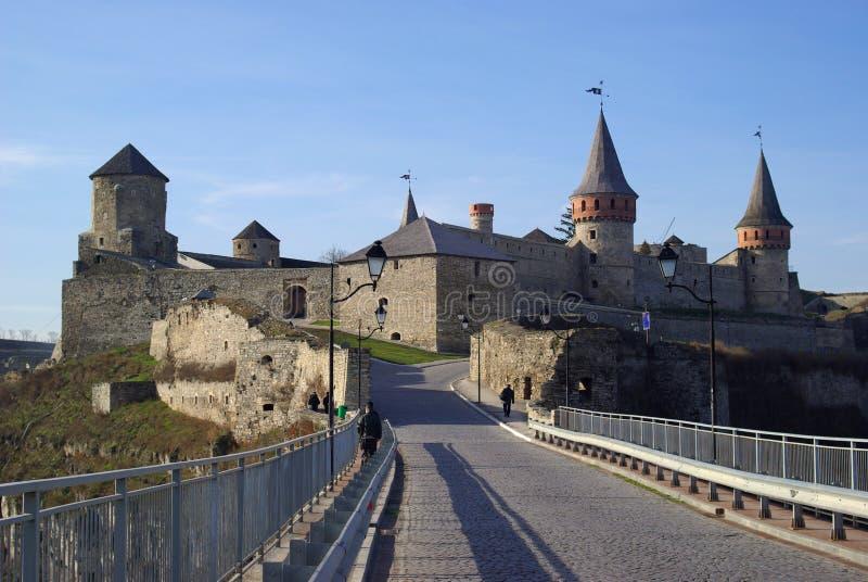 A fortaleza medieval imagens de stock royalty free