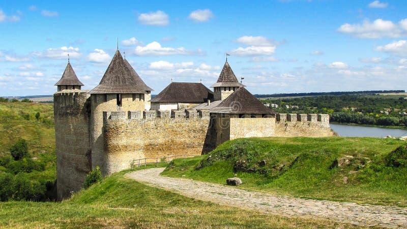 Fortaleza medieval fotografia de stock royalty free