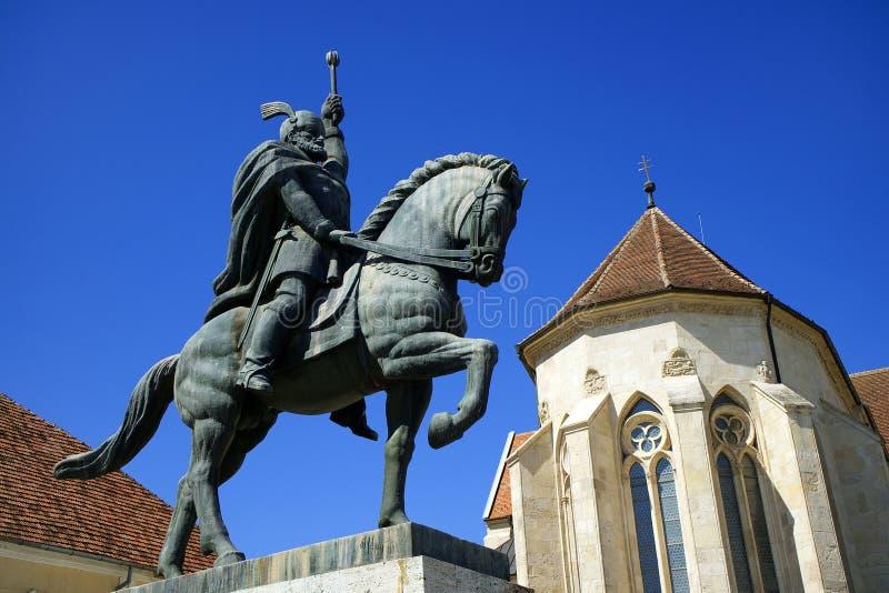 Fortaleza medieval Alba Iulia imagem de stock royalty free