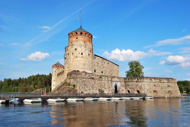 Fortaleza Olavinlinna foto de archivo libre de regalías
