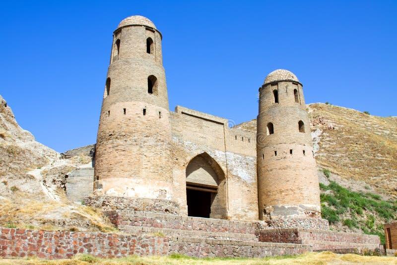 Fortaleza oriental antigua fotografía de archivo