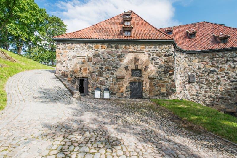 Fortaleza Oslo de Akershus fotografía de archivo