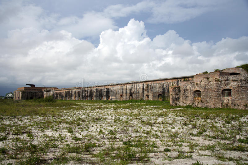 Fortaleza Pickens imagen de archivo
