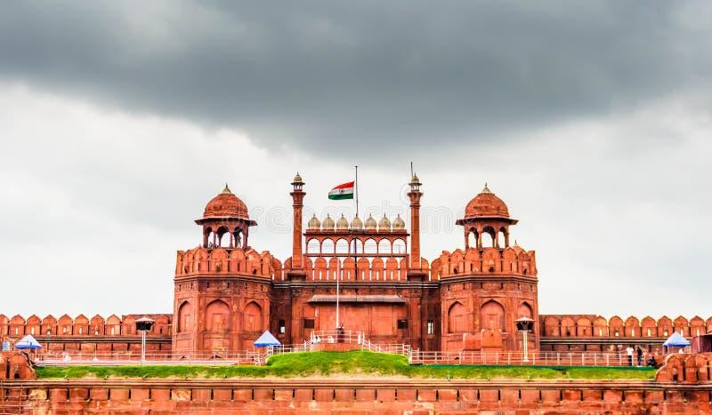 Fortaleza roja Delhi fotografía de archivo