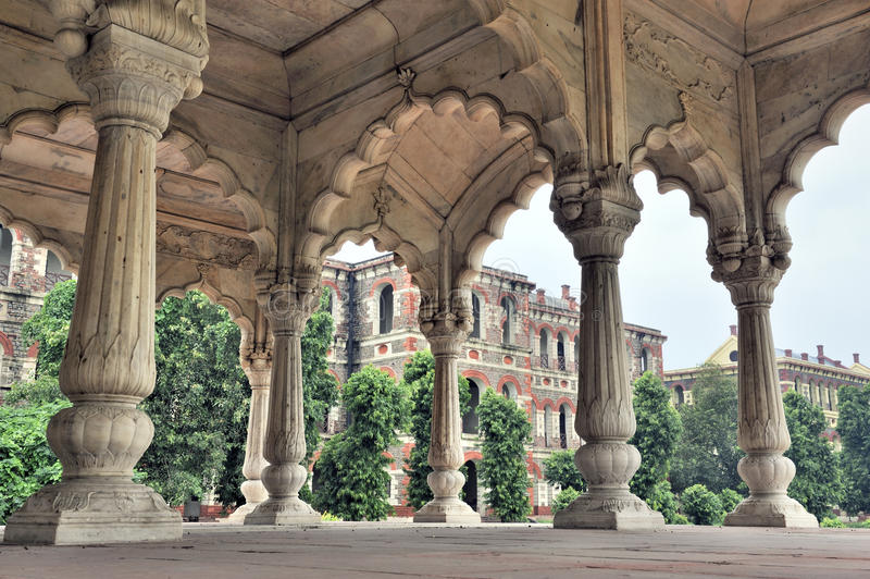 Fortaleza roja, Delhi, la India imagenes de archivo