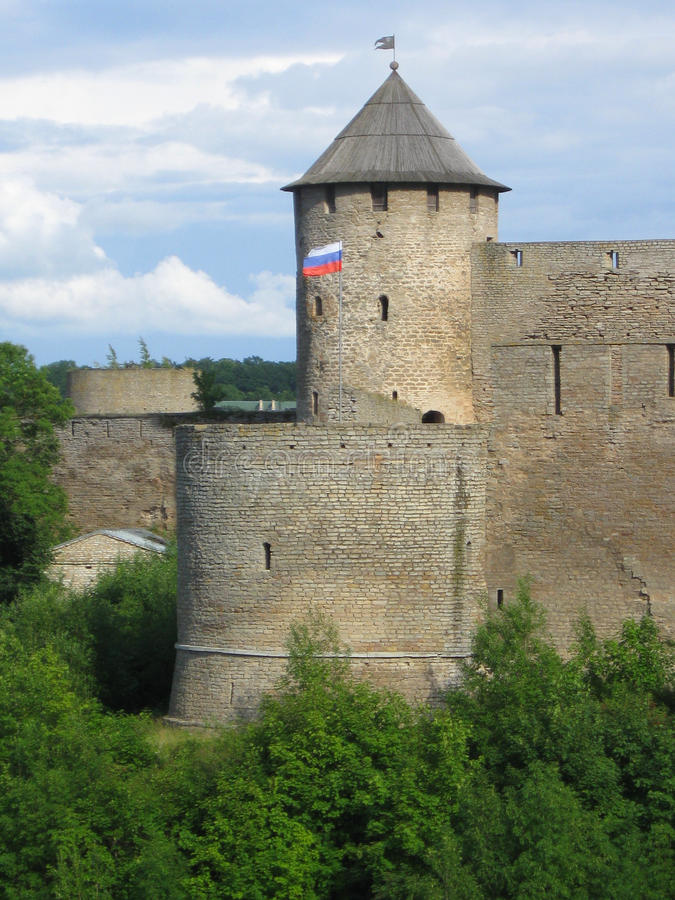 Fortaleza rusa fotos de archivo