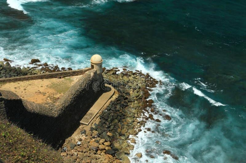 Fortaleza San Cristobal Garita del Diablo fotografía de archivo libre de regalías