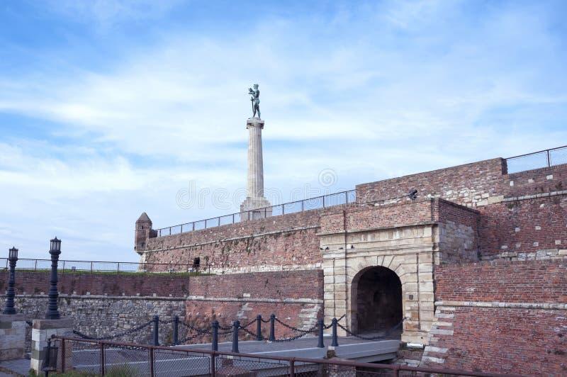 Fortaleza Serbia de Belgrado Kalemegdan imágenes de archivo libres de regalías