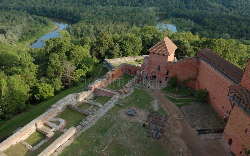 Fortaleza velha em Latvia imagens de stock royalty free