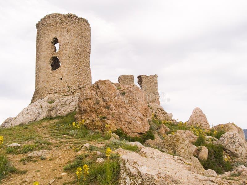 Fortaleza vieja de Génova fotografía de archivo