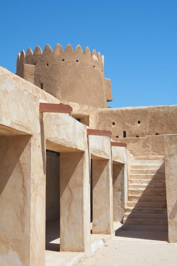 Fortaleza Zubara imagen de archivo libre de regalías