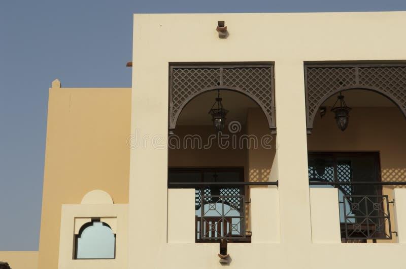 Forte árabe em Ras Al Khaimah Dubai fotos de stock