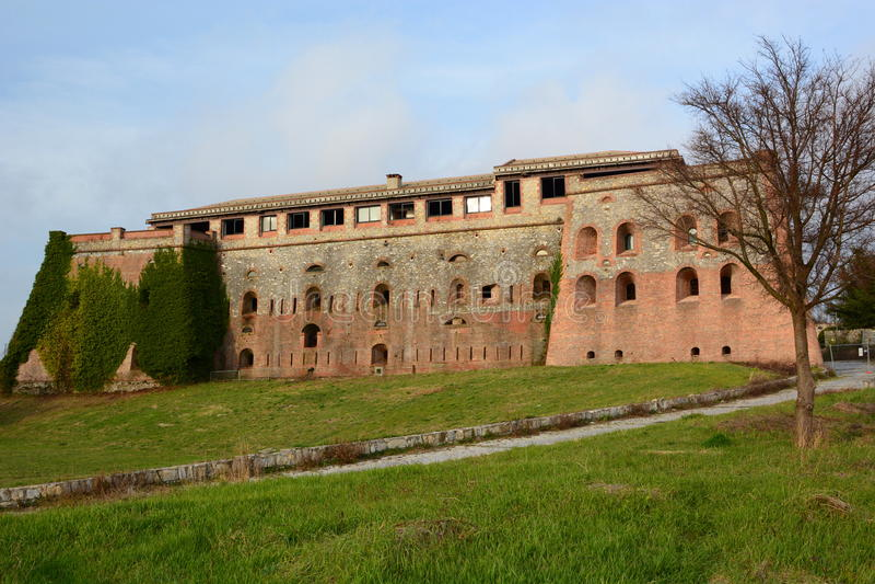 Forte Begato Gênes La Ligurie l'Italie image stock