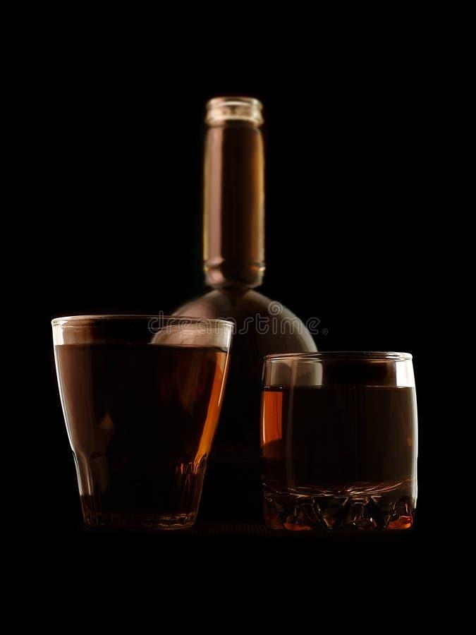 Forte bevanda fotografie stock libere da diritti