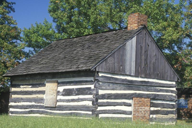 Forte Christina em Wilmington Delaware, local do primeiro pagamento europeu em Delaware imagem de stock royalty free