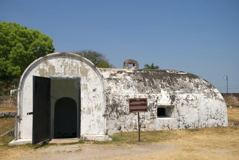 Forte Cornwallis, Georgetown, Penang, Malásia imagem de stock