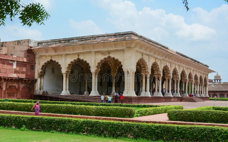 Forte de Agra em Agra, Índia fotos de stock royalty free