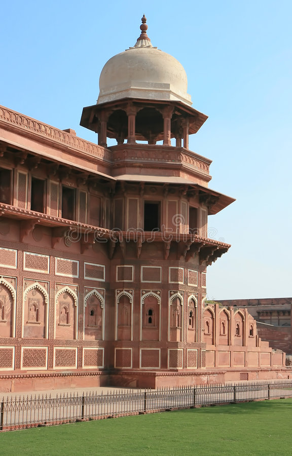 Forte de Agra, India fotos de stock