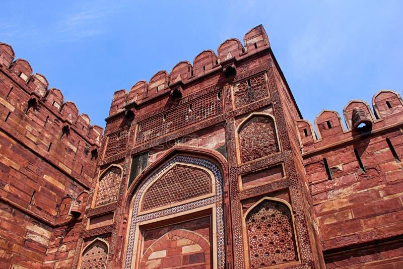 Forte de Agra, India fotos de stock royalty free