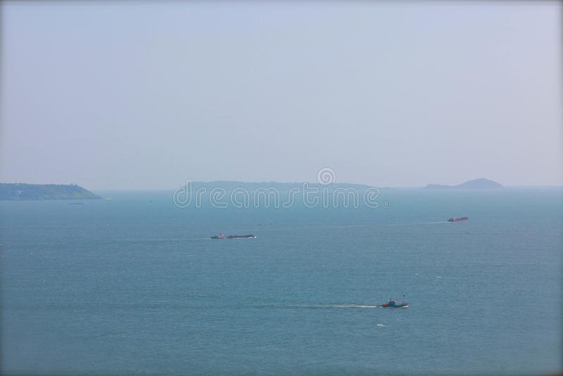 Forte de Aguada em GOA, Índia fotos de stock royalty free