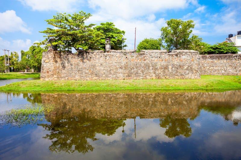 Forte de Batticaloa, Sri Lanka foto de stock